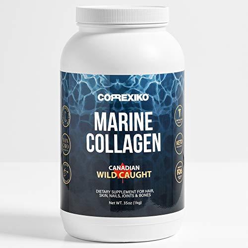 CORREXIKO - The Big ONE - 1KG Super Premium Marine Collagen Peptides Powder - from Wild-Caught Canadian Fish Skins