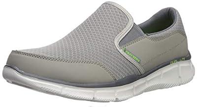 Skechers Men's Equalizer Persistent Slip-On Sneaker, Gray, 10 M US from Skechers