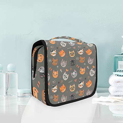 Maquillage cosmétique sac de bande dessinée portable dessin animal mignon voyage pochette de rangement sac de toilette pour femmes dame