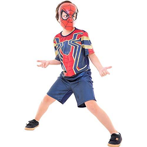 Fantasia Homem Aranha Infantil Curta Vingadores Guerra Infinita P 2-4
