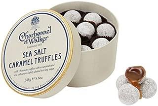 Charbonnel et Walker Milk Sea Salt Caramel Truffles, 8.5 Ounce