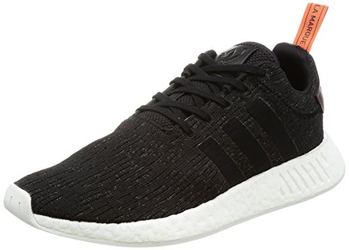 adidas Nmd_R2, Herren Sneaker, schwarz (Negbas / Negbas / Cosfut), 44 EU