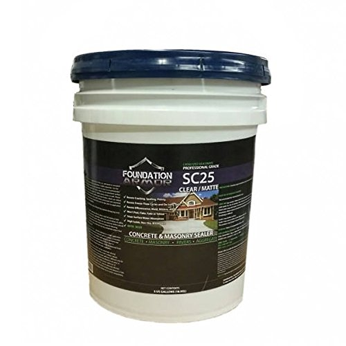 5 GAL Armor SC25 Penetrating Concrete Sealer and Water Repellent Salt Guard