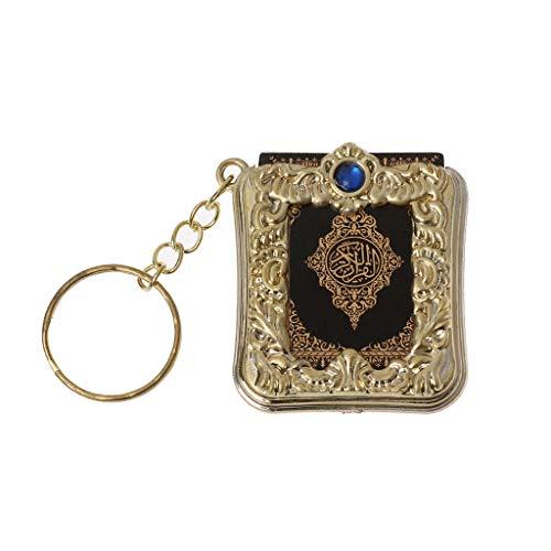 Guoyy Mini Ark Quran Buch Real Paper Kann Arabisch Lesen Der Koran Keychain Muslim Schmuck