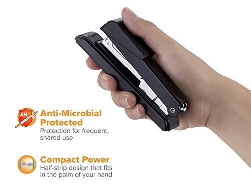 Bostitch Office B8RCFC B8 PowerCrown Flat Clinch Premium Stapler, 40-Sheet Capacity, Black Photo #8