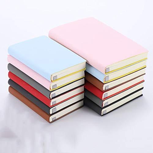 Creative A7 A6 Schetsboek 100 Notitieboekje voor notitieblok Schilderij Fotodagboek School Gift A6 Zwart