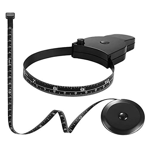 VICSPORT 2 st kroppstejp mått, midja/bh mätsats, måttband för kropps- och fettviktsmätare (150 cm)
