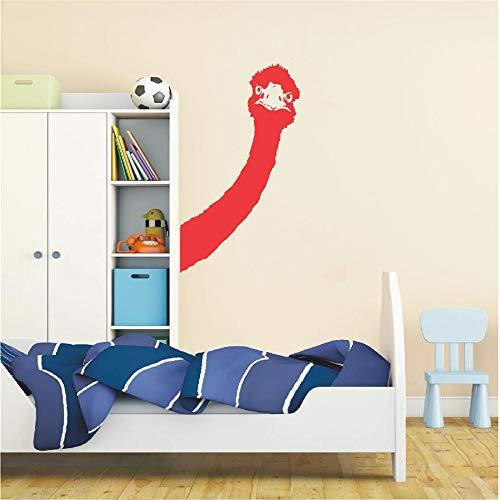 Wandtattoo Vinyl Aufkleber Wand Art Deco Tier Abnehmbare Schlafzimmer Wohnzimmer Art Deco Tapete Wandbild 26X42 cm