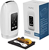 Navatiee Hand Massager Machine with Heat, Cordless Electric Hand Massager for Arthritis and Carpal Tunnel, 6 Levels of Compression Massage and Intensity for Wrist, Palm, Numbness, Finger Pain Relief