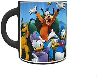 IMPRESS Heat Sensitive Magic Ceramic Coffee Mug with Micky and Friends Design 1001