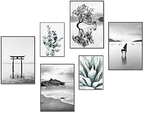 Cuadros Decoracion Salon Modernos Blanco Y Negro cuadros decoracion salon  Marca artpin