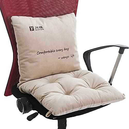 Cuscino per la schiuma di memoria del gel fresco e cuscino di supporto lombare per sedia da ufficio e cuscini di seggiolino auto - Set di comfort finale Allevia il dolore alla schiena, dolore osseo de