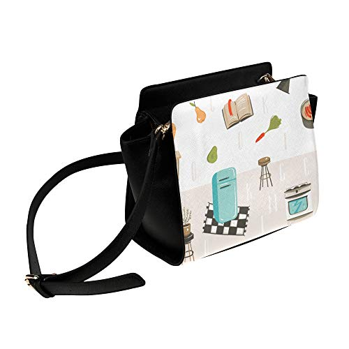 Bolsa de moda para mujeres Refrigerador Patrón eléctrico Bolso de mochila Bolsas...