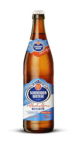 Schneider Weisse - Alkoholfrei (TAP 3/10 Flaschen à 0,5 l/weniger als 0,5% vol.) inc. 0,80€ MEHRWEG Pfand