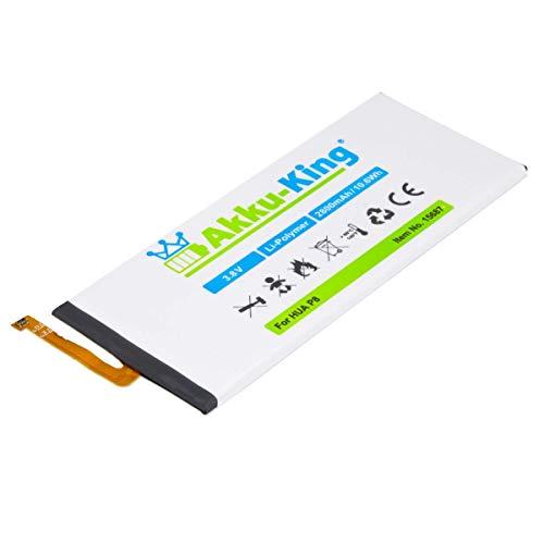 Akku kompatibel mit Huawei P8 - ersetzt HB3447A9EBW HB3447A9EBA - Li-Polymer 2800mAh