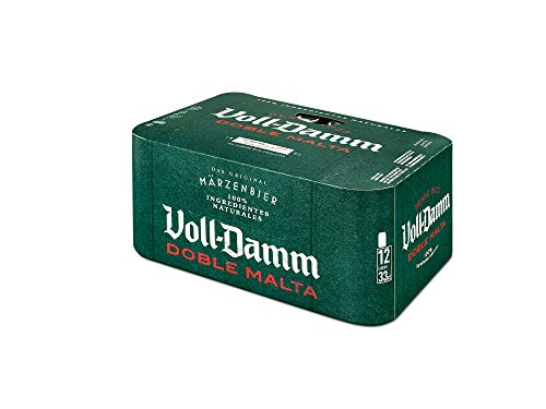Damm Cerveza VollDamm Doble Malta Estilo Märzenbier, 12 x 33cl