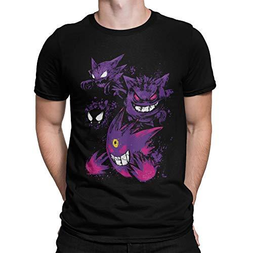 3418-Camiseta Premium, Pokemon - Ghost Evolution (Dr.Monekers)