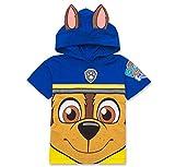Nickelodeon PAW Patrol Hooded Shirt: Chase, Marshall, Rocky, Rubble, Zuma - Boys