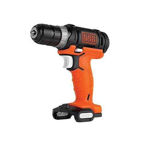 BLACK+DECKER BDCDD12USB-XJ - Taladro atornillador 12 V, 550 rpm, portabrocas 10mm