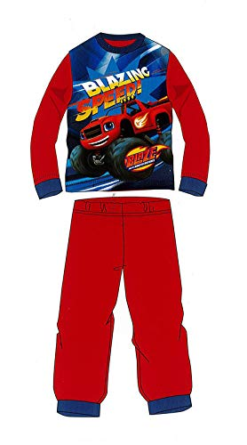 Blaze Pyjama dhiver Rouge 2 à 6 ans, bleu, XX-Small