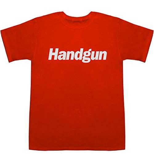 Handgun ハンドガン T-shirts レッド S【エアガン】【エアガン 電動】