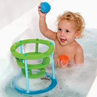 """Sensory Hoops Sensory Hoops 16 Pieces Kids' Toys, Blue Rings with Green Supports, 8"""", 16 Pieces"""