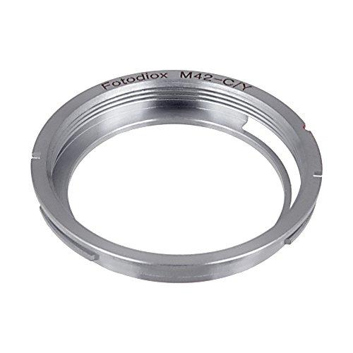 Anillo Adaptador para Fotodiox M42 (Rosca 42mm x1) Lente de la cámara Contax Yashic