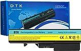 Dtk Batería de Repuesto para Portátil Lenovo B470 G460 G460A G560 Ideapad V360 V370 V470 Z460 Z465 Z560 Z565 L09N6Y02 L10M6F21 L10P6F21 LO9L6Y02 121001095 57Y6454 L09C6Y02 121001094 [10.8V 4400MAH 6CELLS]