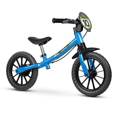 Bicicleta, Nathor, Aro 12, Balance Bike Masculina, Azul