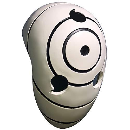 Gmasking Resin Tobi Obito Uchiha Cosplay Helmet Halloween Costume Mask