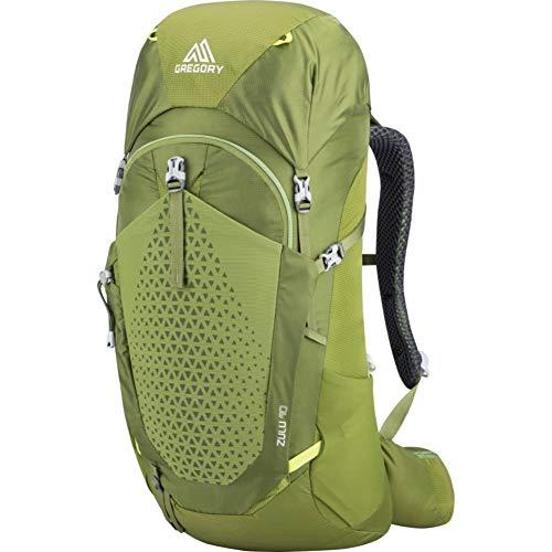 Gregory Mountain Products Zulu - Mochila de senderismo para hombre, 40 litros, color verde, tamaño M-L
