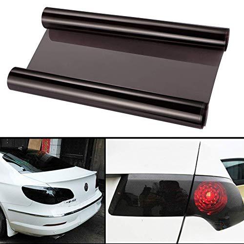 Auto-adhésif imperméable vinyle phare Film de teinte phares, feux arrière, feux de brouillard Teinte film(30cmx120cm)