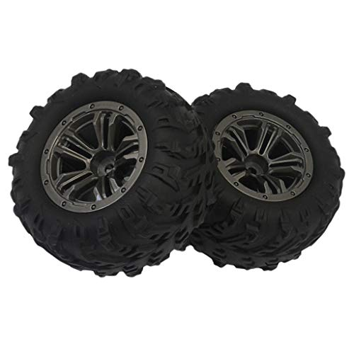 NLLeZ Láminas de neumáticos RC 2pcs para Xin-le-Hong Q901 Q902 Q903 RC Reemplazos de automóvil