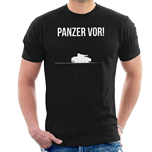 Panzer Vor Girls Und Panzer White Men's T-Shirt