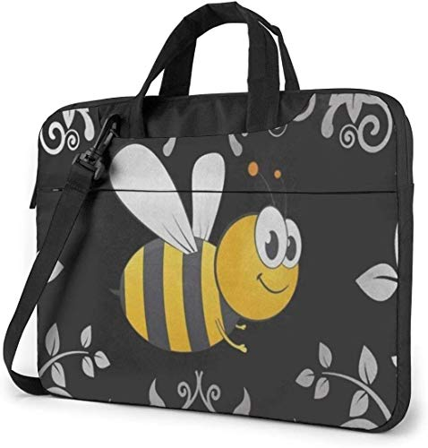 Bumble Bee Laptop Sleeve Bag Carrying Case with Handle and Adjustable Shoulder Strap Business Travel Bag