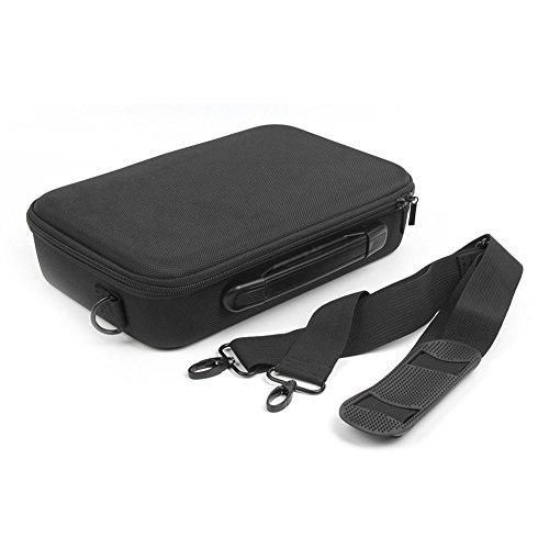 Sedensy - Bolsa de Transporte rígida para dji Tello/Tello EDU RC Minidrone Maleta de Transporte, Bolsa de Almacenamiento Negra Impermeable para Accesorios de dron dji Tello, Color Negro