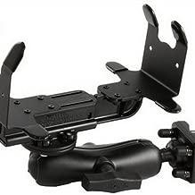 RAM MOUNTS (RAM-VPR-105-1 Universal Portable Printer Cradle, Double Socket Arm and Double U-Bolt Base