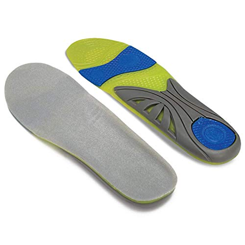 Dr. Zen Adjustable Orthotic Massaging Gel Insoles for Men and Women...