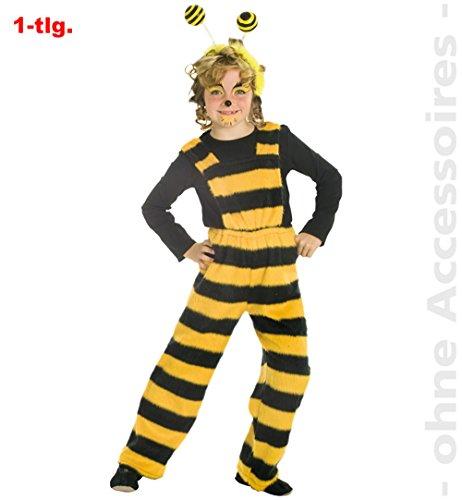 Biene Bienchen Hose Latzhose Tier Kinder Kostüm Gr 128