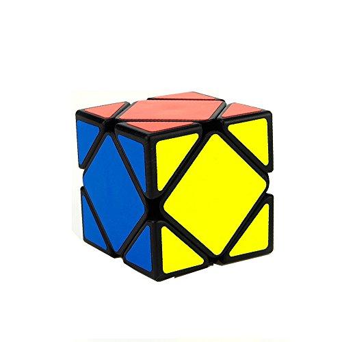 EasyGame Moyu Yongjun Skewb Speed Cube Puzzle, Negro