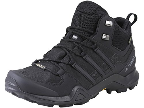 adidas outdoor Terrex Swift R2 Mid GTX Black/Black/Black 10