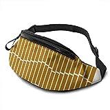 XCNGG Bolso de cintura corriente bolso de cintura de ocio bolso de cintura bolso de cintura de moda Geometric Piano Keys Belt Bag 13.7 X 5.5 inch Unisex Running Waist Packs Fashion Casual Waist Bag, C