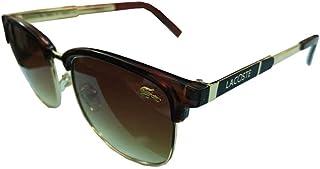 نظارة شمسية من لاكوست بعدسة بنية اللون للجنسين، 8309