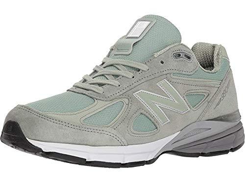 New Balance - Mens M990S Shoes, 13.5 UK - Width D, Mint/Silver Mint
