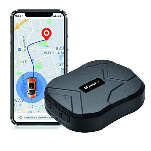 Localizzazione GPS per Auto, Monitoraggio in Tempo Reale Dispositivo Anti-perso Antifurto, GPS Tracker con Magnetico Dispositivo App Gratuita per Auto Camion Moto Nave Flotta 90 Giorni in Standby