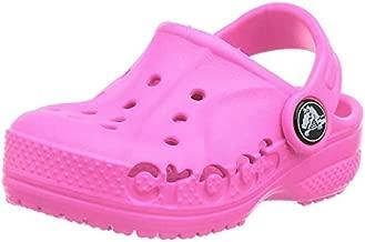 Crocs Kids' Baya Clog , Neon Magenta, 8 Toddler