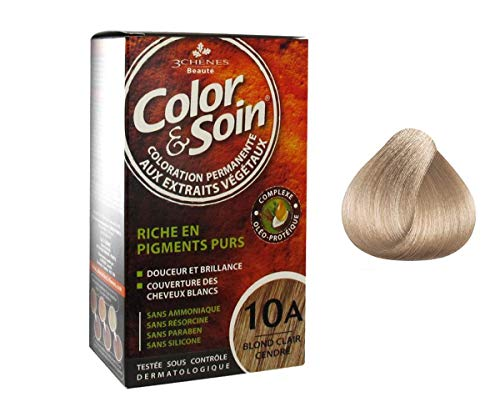 Les 3 Chênes : Color & Soin 10A - blond clair cendré