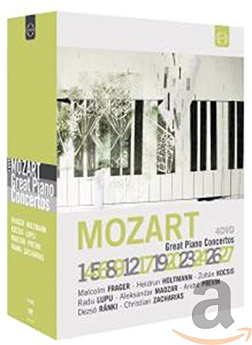 Mozart: Klavierkonzerte [4-DVD Box]