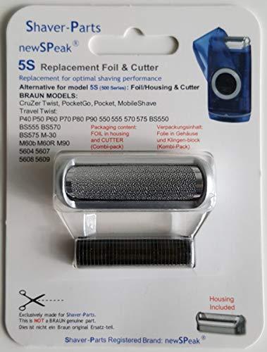Braun feuille/grille de rasage 5S (500 Series), alternative