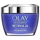Best Retinol Night Moisturizer Vitamins - Olay Regenerist Retinol24 Night Face Cream Moisturiser With Review
